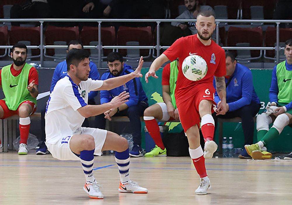 Azərbaycan millisi ilk oyunda Xorvatiyaya məğlub oldu